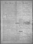 San Juan County Index, 08-10-1900