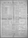 San Juan County Index, 11-09-1900