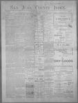 San Juan County Index, 02-08-1901