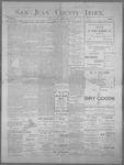 San Juan County Index, 02-15-1901