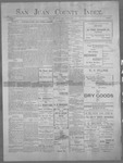 San Juan County Index, 03-08-1901
