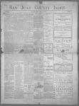 San Juan County Index, 05-17-1901