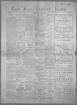 San Juan County Index, 06-21-1901