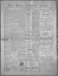 San Juan County Index, 09-06-1901