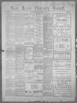 San Juan County Index, 10-18-1901