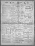 San Juan County Index, 12-27-1901