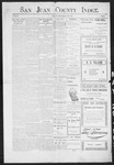 San Juan County Index, 05-29-1903 by L. C. Grove