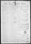 San Juan County Index, 02-05-1904 by L. C. Grove
