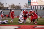 Men's Football: UNM Lobos vs. BYU Cougars (3), November 11, 1995 by University of New Mexico