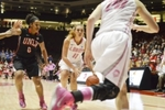Women's Basketball: UNM Lobos vs. Northern Arizona Lumberjacks, December 3, 1996 by University of New Mexico