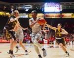 Women's Basketball: UNM Lobos vs. New Mexico State Roadrunners, November 26, 1997