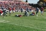 Men's Football:  UNM Lobos vs. Air Force Fighting Falcons, October 9, 2004