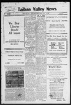Taiban Valley News, 04-16-1920 by J. N. Crenshaw