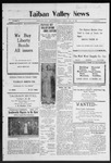 Taiban Valley News, 04-30-1920 by J. N. Crenshaw