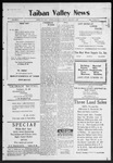 Taiban Valley News, 09-03-1920 by J. N. Crenshaw
