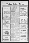 Taiban Valley News, 10-08-1920 by J. N. Crenshaw