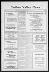 Taiban Valley News, 11-05-1920 by J. N. Crenshaw