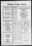 Taiban Valley News, 11-12-1920 by J. N. Crenshaw