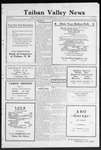 Taiban Valley News, 01-14-1921 by J. N. Crenshaw