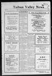 Taiban Valley News, 01-21-1921 by J. N. Crenshaw
