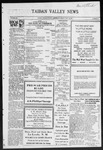 Taiban Valley News, 07-22-1921 by J. N. Crenshaw