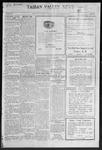Taiban Valley News, 11-11-1921 by J. N. Crenshaw