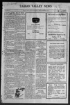 Taiban Valley News, 11-18-1921 by J. N. Crenshaw