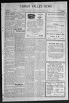 Taiban Valley News, 12-09-1921 by J. N. Crenshaw