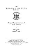 Public water supplies of New Mexico.