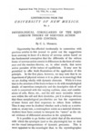 Physiological corollaries of the equilibrium theory of nervous action and control by Clarence Luther Herrick