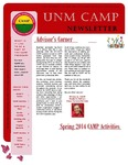 UNM CAMP NEWSLETTER - SPRING 2014