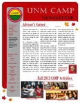 UNM CAMP NEWSLETTER - FALL 2013 by UNM CAMP
