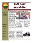 UNM CAMP NEWSLETTER - 2010-2011 COHORT by UNM CAMP