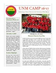 UNM CAMP NEWSLETTER - 2016-2017 by UNM CAMP