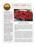 UNM CAMP NEWSLETTER - 2016-2017