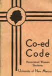 Co-Ed Code 1937-38 by Associated Women Students