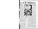 U.N.M. Weekly, Volume 017, No 11, 11/3/1914