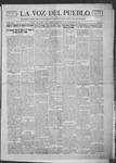 La Voz del Pueblo, 12-15-1917 by La Voz Del Pueblo Publishing Co.