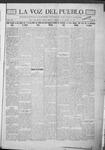 La Voz del Pueblo, 01-05-1918 by La Voz Del Pueblo Publishing Co.