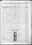 La Voz del Pueblo, 03-09-1918 by La Voz Del Pueblo Publishing Co.