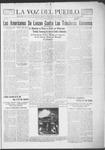 La Voz del Pueblo, 03-16-1918 by La Voz Del Pueblo Publishing Co.