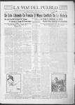 La Voz del Pueblo, 03-30-1918 by La Voz Del Pueblo Publishing Co.
