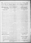 La Voz del Pueblo, 04-27-1918 by La Voz Del Pueblo Publishing Co.
