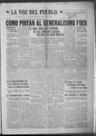 La Voz del Pueblo, 07-27-1918 by La Voz Del Pueblo Publishing Co.