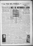 La Voz del Pueblo, 08-17-1918 by La Voz Del Pueblo Publishing Co.