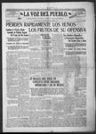 La Voz del Pueblo, 08-31-1918 by La Voz Del Pueblo Publishing Co.