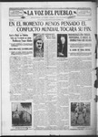 La Voz del Pueblo, 11-09-1918 by La Voz Del Pueblo Publishing Co.