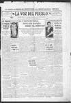 La Voz del Pueblo, 01-04-1919 by La Voz Del Pueblo Publishing Co.