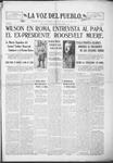 La Voz del Pueblo, 01-11-1919 by La Voz Del Pueblo Publishing Co.