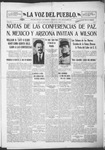 La Voz del Pueblo, 01-25-1919 by La Voz Del Pueblo Publishing Co.